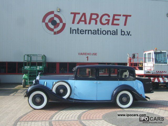 1936 Rolls Royce  Phantom III, 7350cc 12Zyl Perfect condition Limousine Used vehicle photo