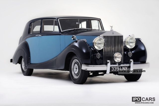Rolls Royce  Silver Wraith James Young Body 1950 Vintage, Classic and Old Cars photo