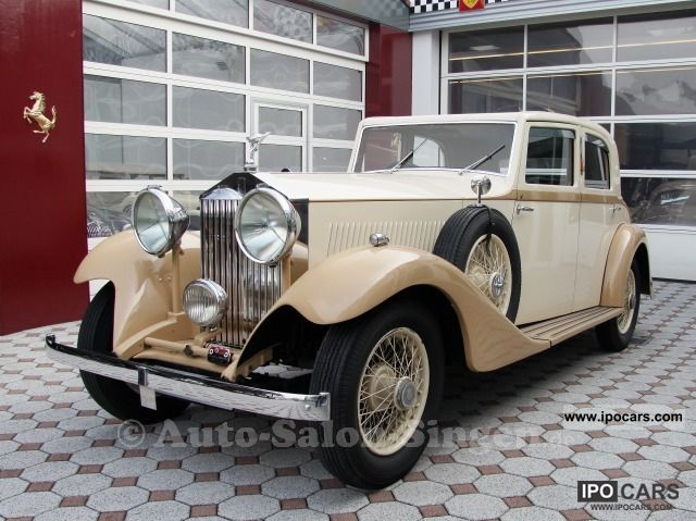 Rolls Royce  20/25 1933 Vintage, Classic and Old Cars photo