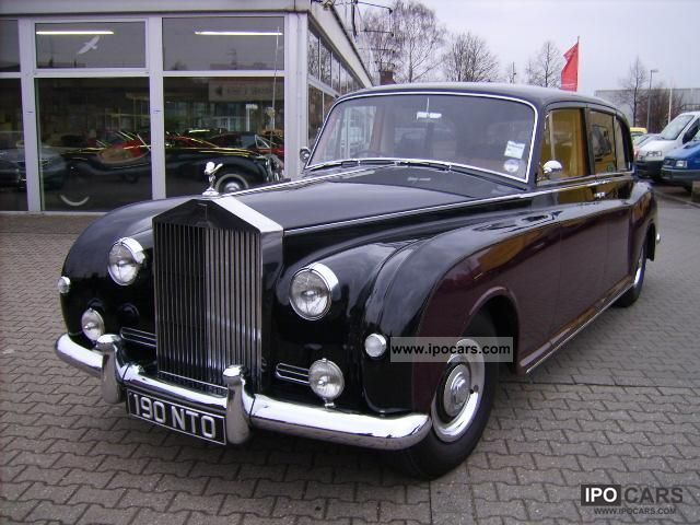 Rolls Royce  Phantom V H-plates 1962 Vintage, Classic and Old Cars photo