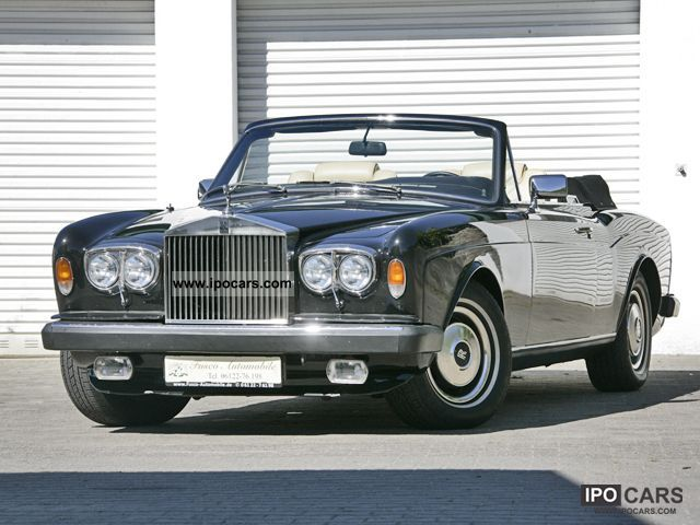 1983 Rolls Royce  Corniche II-Restored Cabrio / roadster Used vehicle photo