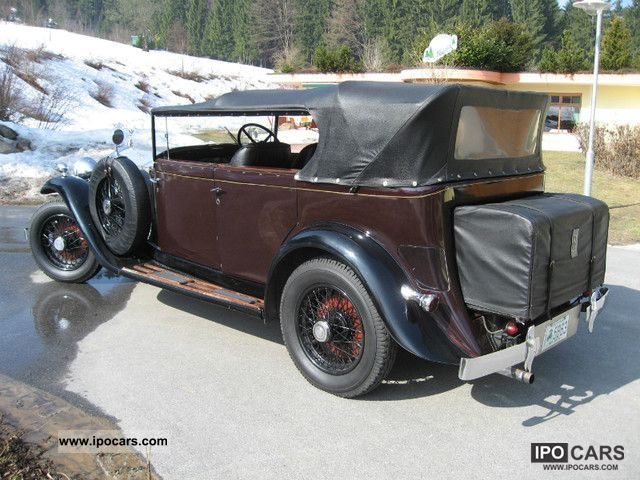 Rolls Royce  25/30 Convertible - worth preserving state 1934 Vintage, Classic and Old Cars photo