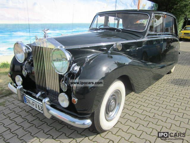 Rolls Royce  Silver Wraith \ 1954 Vintage, Classic and Old Cars photo