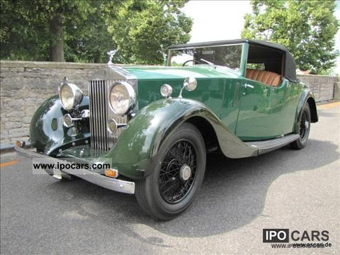 Rolls Royce  25/30 Park Ward 1937 Vintage, Classic and Old Cars photo
