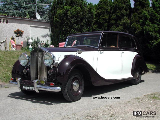 Rolls Royce  Silver Wraith Mulliner Sedanca 1950 Vintage, Classic and Old Cars photo