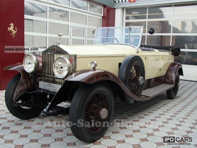 Rolls Royce  Phantom I 1929 Vintage, Classic and Old Cars photo
