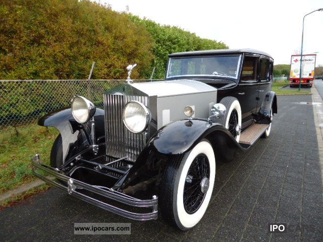 Rolls Royce  Phantom 2 LHD 1932 Vintage, Classic and Old Cars photo
