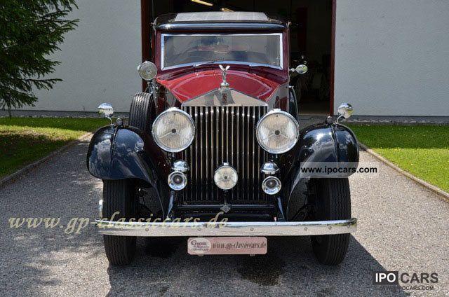 1933 Rolls Royce  Phantom II Limousine Classic Vehicle photo