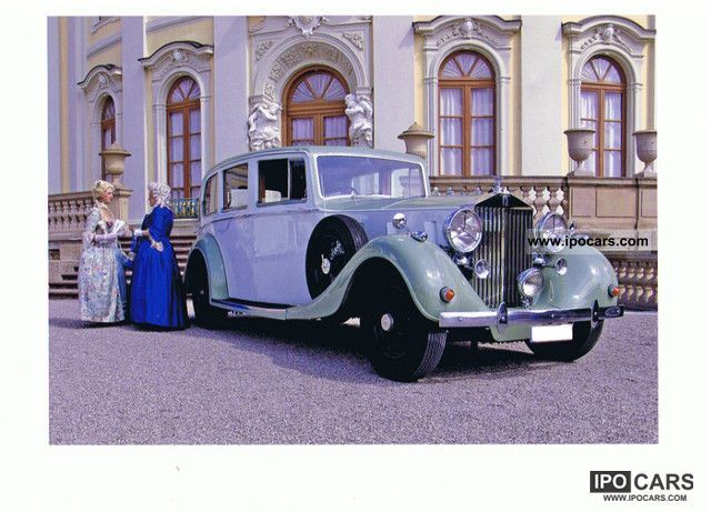 Rolls Royce  Phantom III Rippon Bros. 1937 Vintage, Classic and Old Cars photo