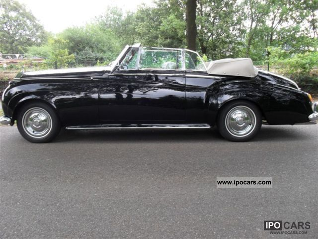 Rolls Royce  Silver Cloud II DHC 1961 Vintage, Classic and Old Cars photo