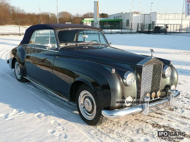 Rolls Royce  Silver Cloud II Convertible 1961 Vintage, Classic and Old Cars photo