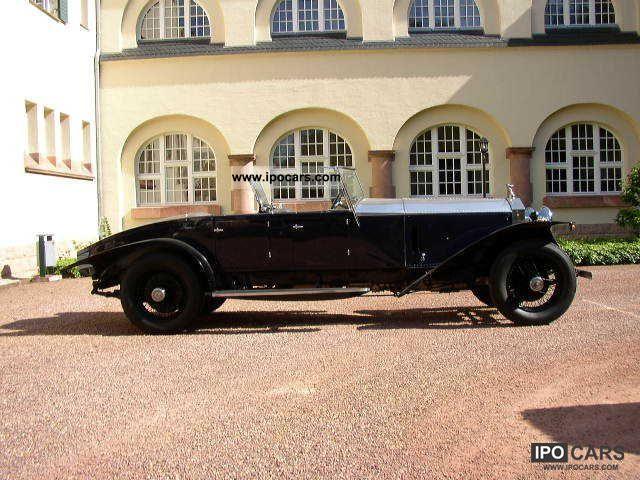 Rolls Royce  Phantom II Boattail Roadster-BUD COHN 1930 Vintage, Classic and Old Cars photo