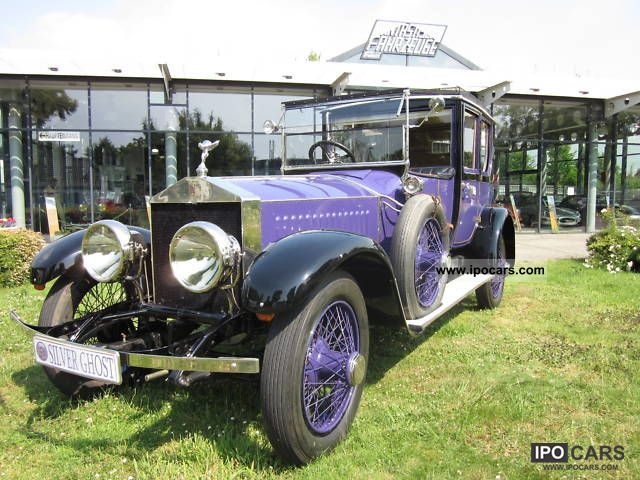 Rolls Royce  Silver Ghost (40/50) 1914 Vintage, Classic and Old Cars photo