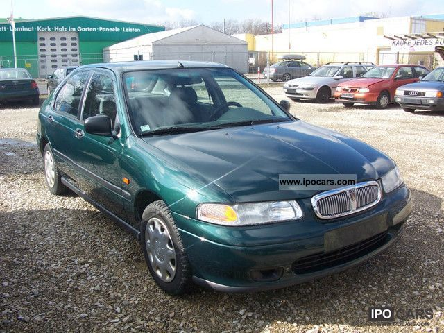 1996 Rover 416 Si Car Photo And Specs