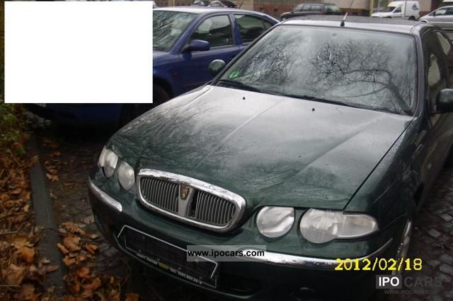 2002 rover 45 1 8 air car photo and specs. Black Bedroom Furniture Sets. Home Design Ideas