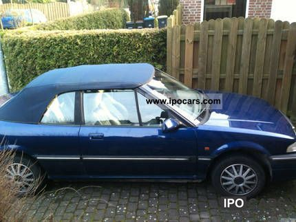 1998 Rover  216 i Convertible Cabrio / roadster Used vehicle photo