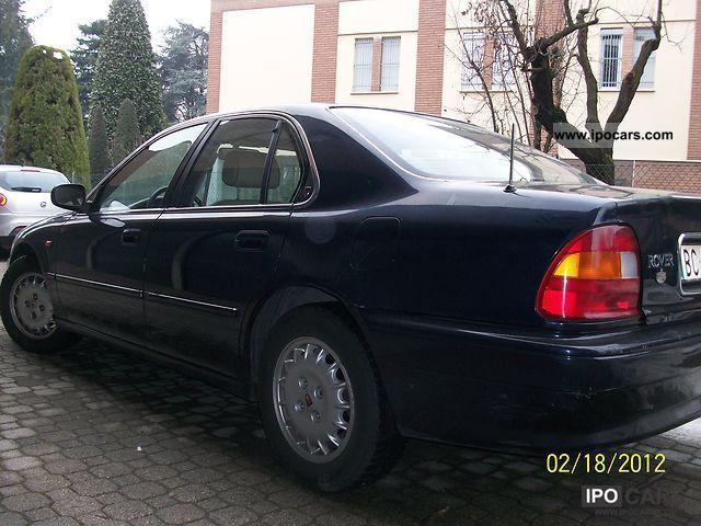 Rover  600 de luxe impianto GPL 1999 Liquefied Petroleum Gas Cars (LPG, GPL, propane) photo