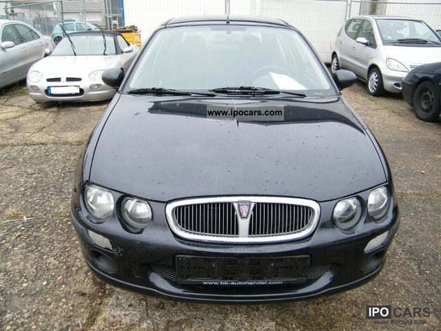 2004 Rover 25 14 Flat Car Photo And Specs