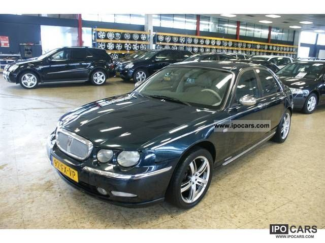 2000 rover 75 2 0 cdt car photo and specs. Black Bedroom Furniture Sets. Home Design Ideas