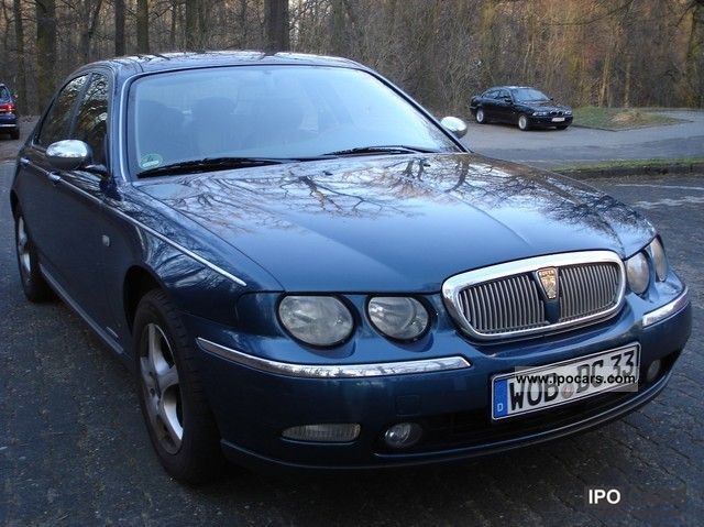 2000 rover 75 2 0 v6 classic car photo and specs