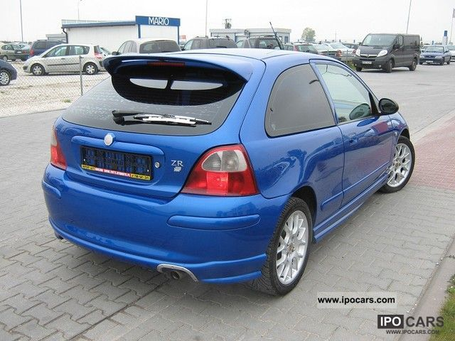 2003 Rover 25 Mg Zr 1 4 16v Air Car Photo And Specs