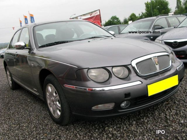 Rover  75 2.0 BENZYNA 2000 Compressed Natural Gas Cars (CNG, methane, CH4) photo