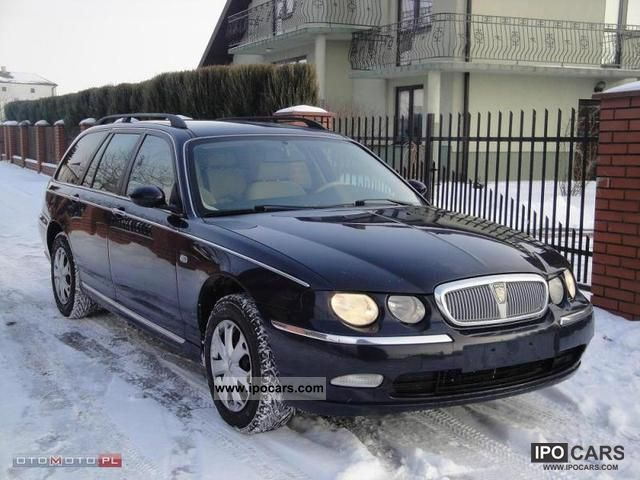 2003 rover 75 2 0 cdt klimatyzacja diesel car photo and specs. Black Bedroom Furniture Sets. Home Design Ideas