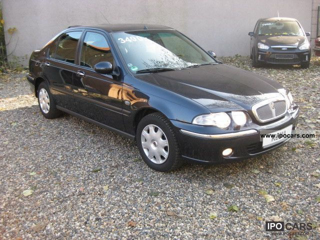 2001 rover 45 1 8 car photo and specs. Black Bedroom Furniture Sets. Home Design Ideas