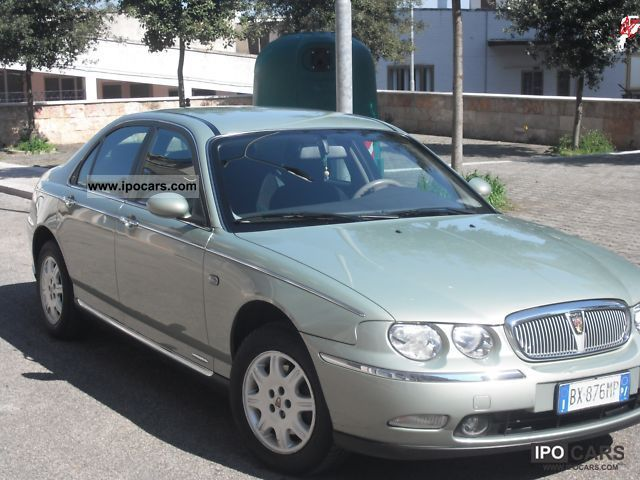 2000 rover 75 cdt car photo and specs. Black Bedroom Furniture Sets. Home Design Ideas