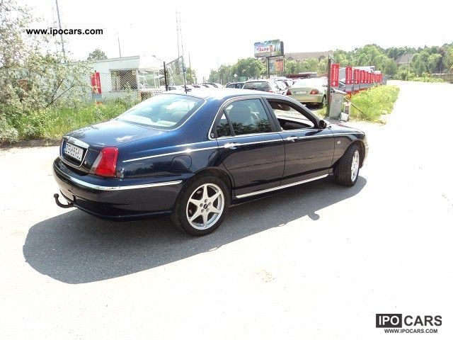 2002 rover 75 2 0 diesel automatic car photo and specs. Black Bedroom Furniture Sets. Home Design Ideas