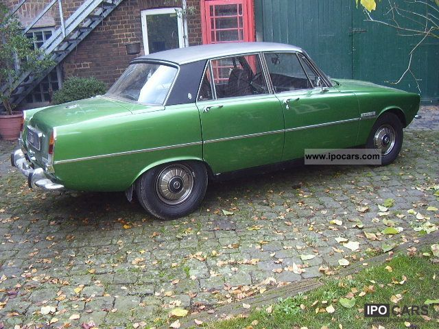 Rover  3500 P6 1973 Vintage, Classic and Old Cars photo