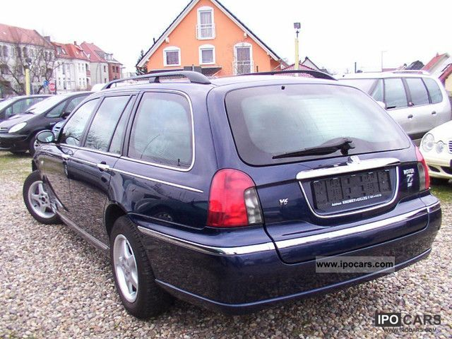 2003 rover 75 tourer 2 5 v6 celeste fully equipped car photo and specs. Black Bedroom Furniture Sets. Home Design Ideas