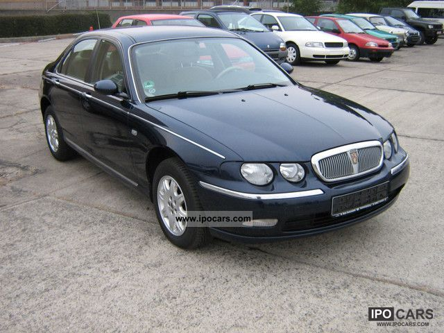 2003 rover 75 2 0 v6 automatic climate charm 1 hand car photo and specs. Black Bedroom Furniture Sets. Home Design Ideas