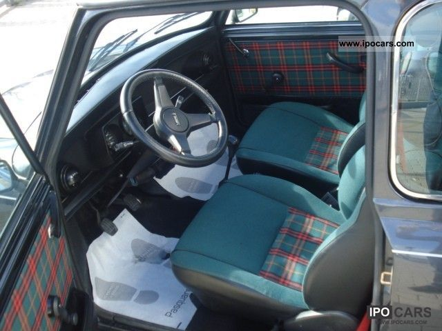 1995 Rover Mini 1 3i Cat Balmoral Car Photo And Specs