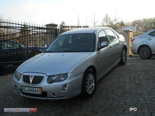 2004 Rover 75 2ldci 130km Lift Ful Wypas Car Photo And Specs