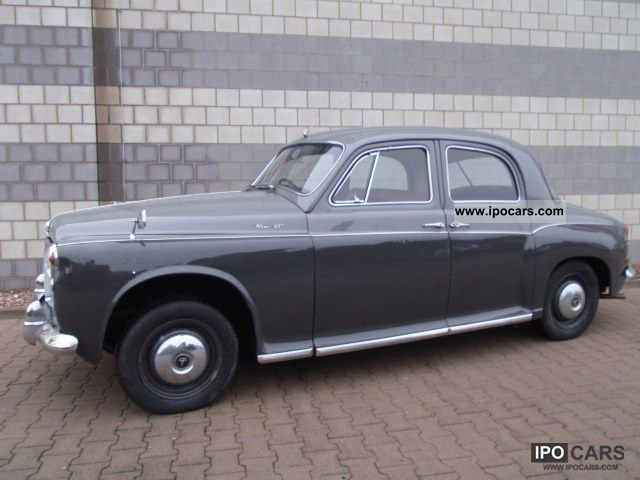Rover  P4 95 classic overdrive 1963 Vintage, Classic and Old Cars photo