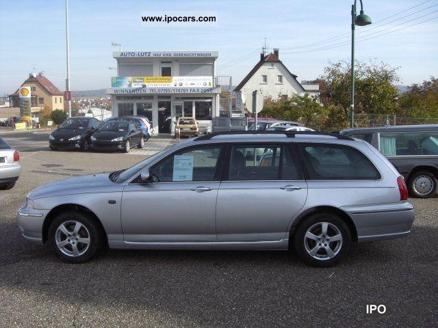 2003 rover 75 tourer 2 0 cdti classic car photo and specs