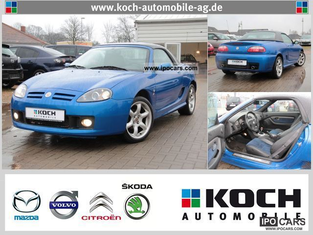 2004 Rover  MG TF Roadster 1.8i with hardtop / Cool Blue Cabrio / roadster Used vehicle photo