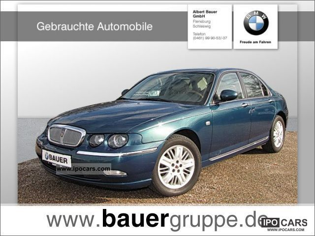 2004 Rover 75 20 Cdt Celeste Leather Climate Car Photo And Specs