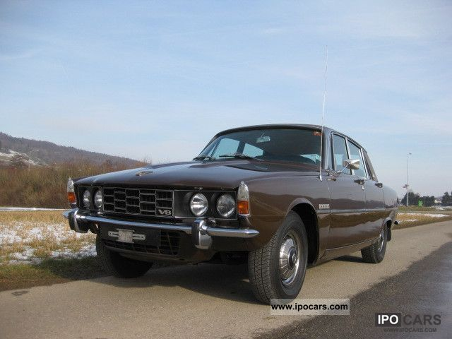 1974 Rover  P6 3500 MK II Limousine Classic Vehicle photo