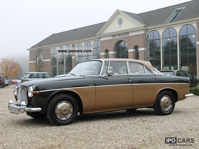 Rover  P5 Coupe 3.0 Mk3 1966 Vintage, Classic and Old Cars photo