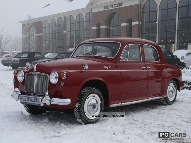 Rover  P4 100 6 cilinder 1962 Vintage, Classic and Old Cars photo