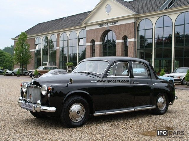 Rover  P4 110 Saloon LHD 6 Cilinder 1963 Vintage, Classic and Old Cars photo
