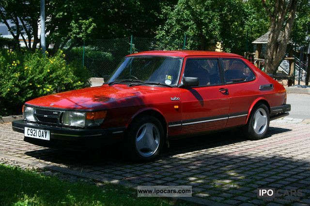 1986 Saab 900 turbo  Car Photo and Specs