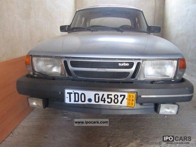 1985 Saab  16 900 turbo Limousine Used vehicle photo