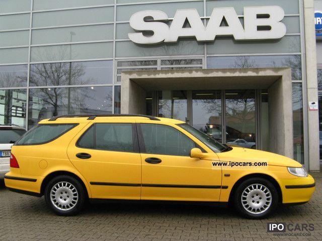2004 Saab  9-5 2.3t aut. Anniversary vent.Sitze xenon, Estate Car Used vehicle (business photo
