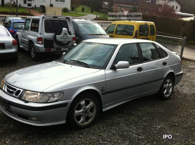 2000 Saab 9 3 2 Tid Model Air Leather Volll Limousine