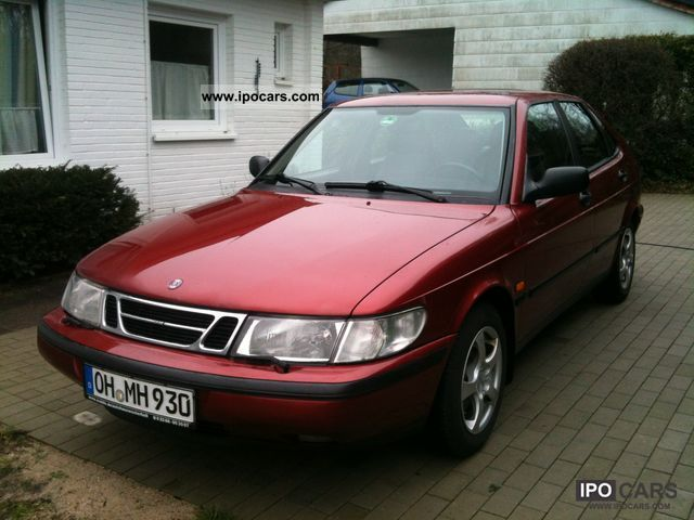 1998 saab 900 2 0 turbo se car photo and specs. Black Bedroom Furniture Sets. Home Design Ideas