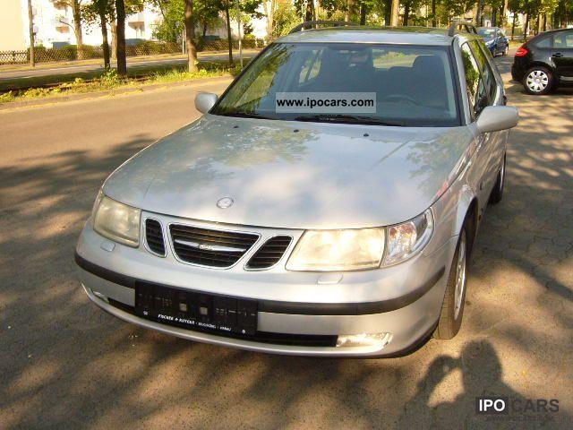 2001 Saab  9-5 2.3t Automatic transmission Leather Estate Car Used vehicle photo