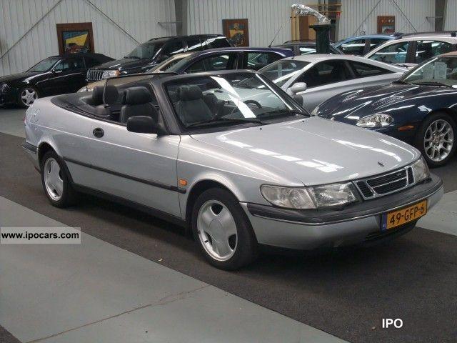 1995 saab 900 cabriolet 2 0 turbo talladega car photo and specs. Black Bedroom Furniture Sets. Home Design Ideas